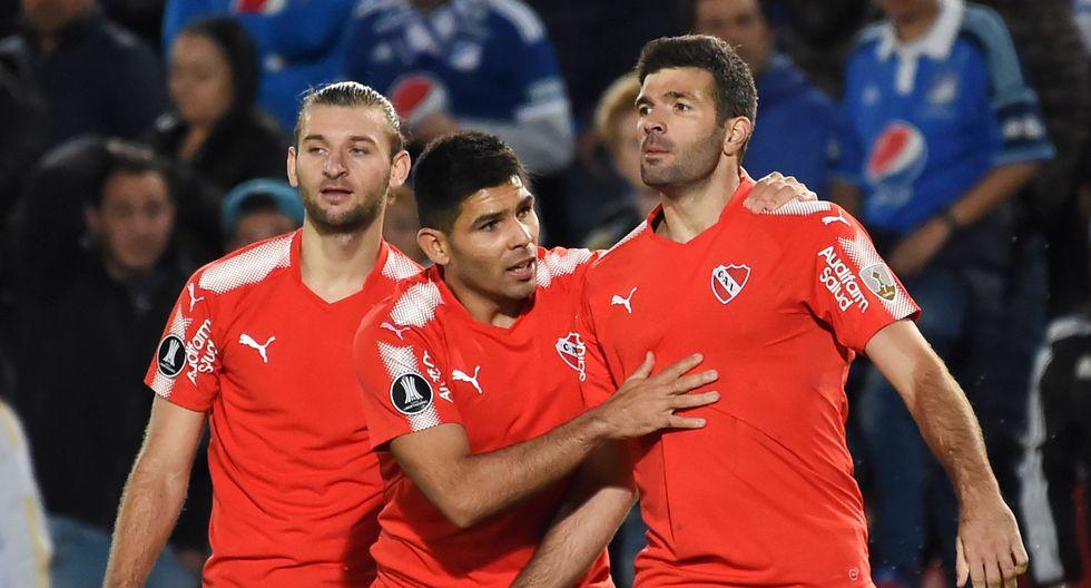 Independiente suma 7 puntos y mantiene la segunda posición del grupo, que encabeza Corinthians con 10 unidades; mientras que, Millonarios comprometió aún más sus aspiraciones, pues sigue colero, con cinco puntos, a uno del tercero Deportivo Lara. (AFP)