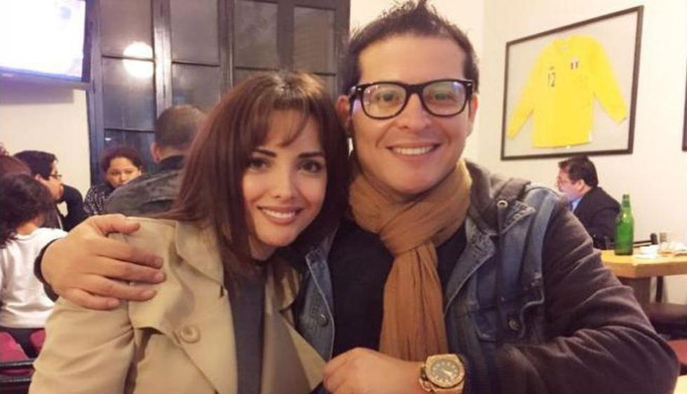 """""""Me lo contó el año pasado"""", aseguró Espinoza sobre la presunta confesión del conductor radial. (Instagram/@rosangelaeslo)"""