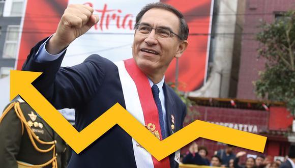Martín Vizcarra realizó su mensaje a la nación el 28 de julio. (USI)