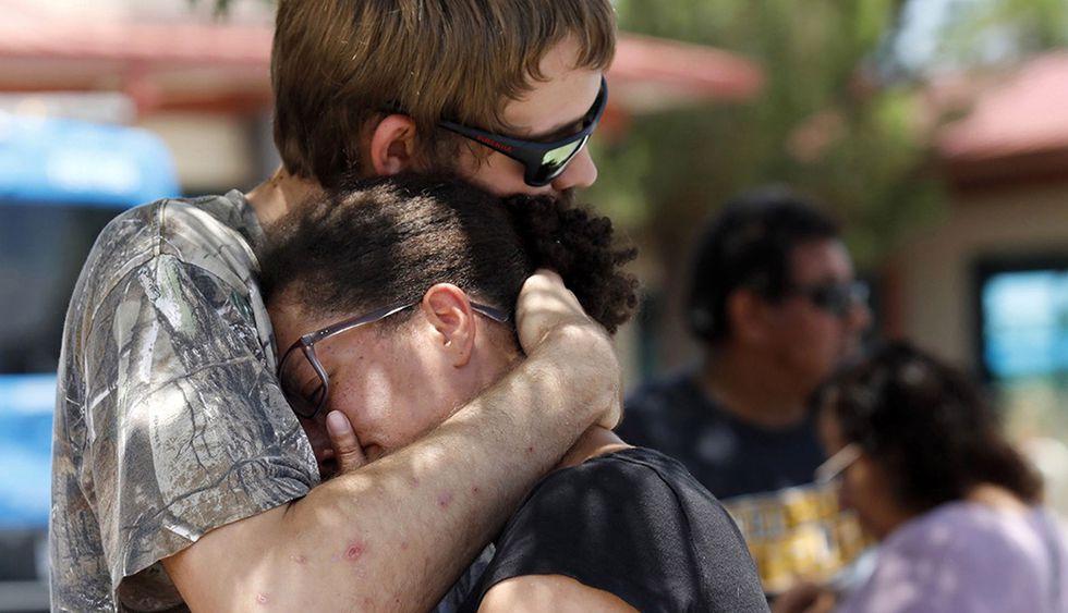 El tiroteo en El Paso dejó dolor entre sus habitantes. (Foto: EFE)