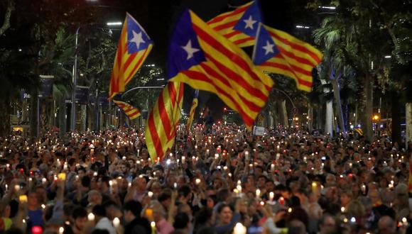 Theresa May, aseguró que Reino Unido no reconocerá a Cataluña como república en caso declare unilateralmente su secesión (Efe).