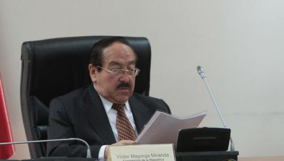 Mayorga Miranda fue legislador por el nacionalismo. (Rafael Cornejo)