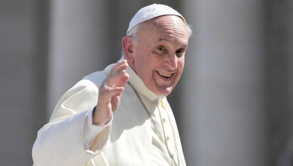 ACLARE. Francisco señala que jamás ha sido de derecha. (AFP)