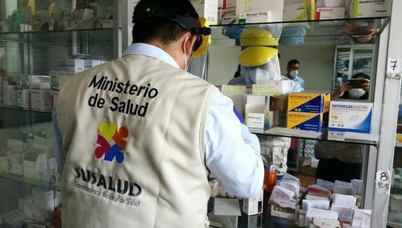 El sector Salud informó que en las sedes se encontró dispositivos médicos vencidos y no acreditaron la programación. (Foto: Minsa)