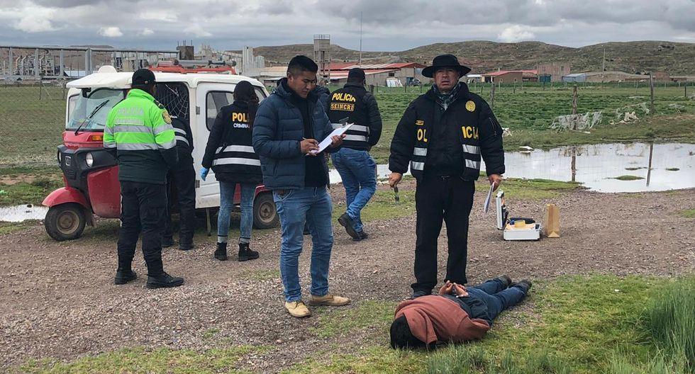 Policía detiene a principal sospechoso de feminicidio en Juliaca. (Foto: PNP)