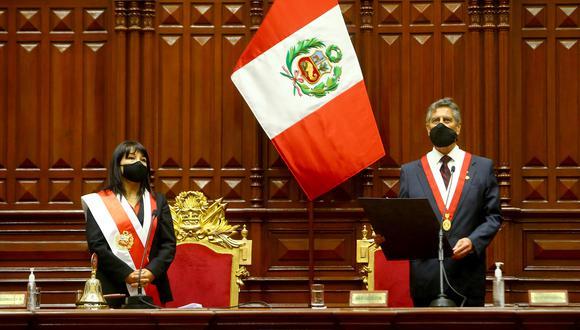 Francisco Sagasti se convirtió en presidente de la República a los 76 años de edad. (Foto: Presidencia)