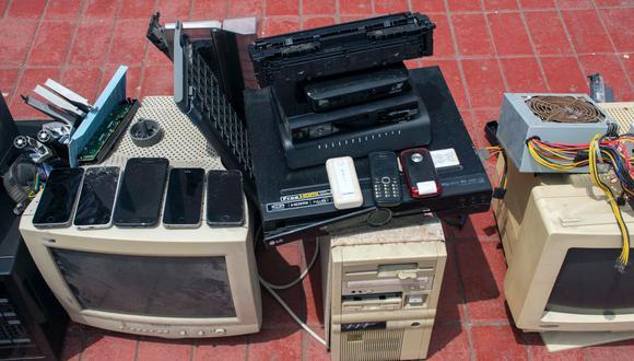 """El acopio de residuos electrónicos forma de la campaña """"Tecnorecicla Lima"""". (Municipalidad de Lima)"""