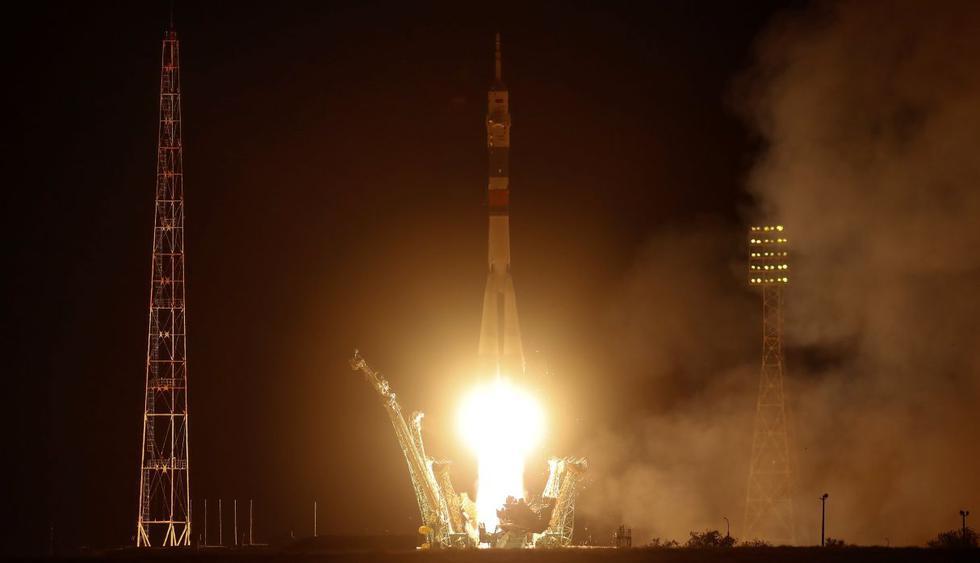 Nave Soyuz despega rumbo a Estación Espacial en homenaje al Apolo 11. (Foto: Reuters)