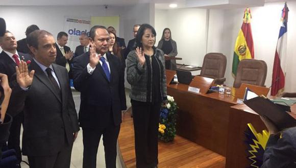 Actualmente el Parlamento Andino peruano cuenta con cinco representantes. (Difusión)