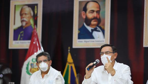 Presidente Vizcarra explicó nuevas medidas que regirán durante la cuarentena. (Foto: Presidencia de la República)