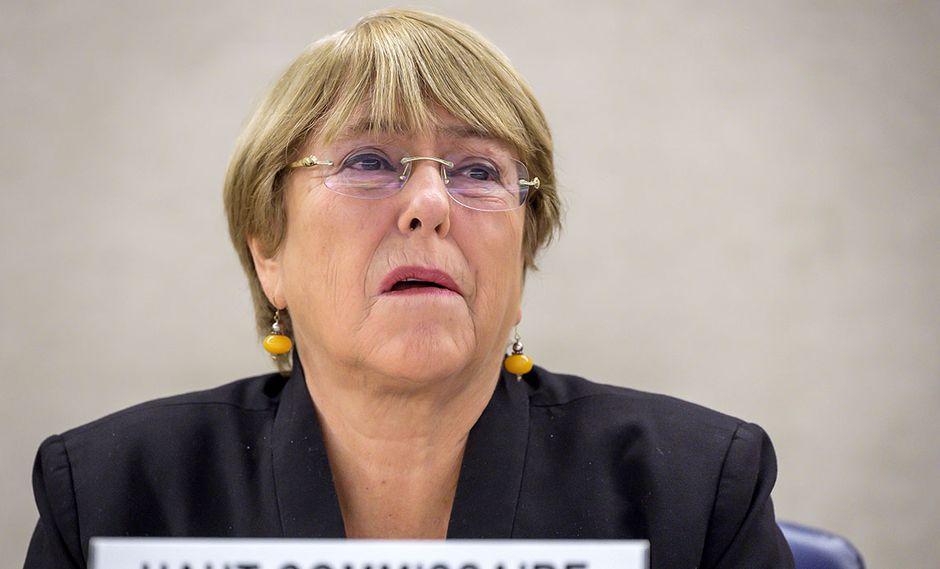 Michelle Bachelet, expresidenta de Chile y actual  Alta Comisionada de Derechos Humanos de la ONU. (Foto: AFP)