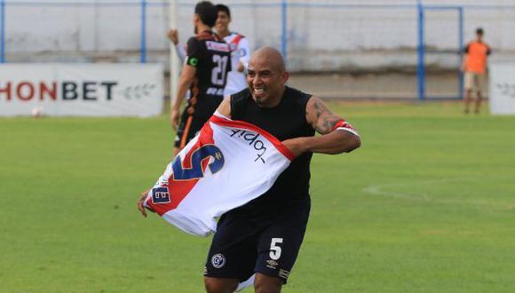 Egidio Arévalo Ríos fue anunciado como jugador de Deportivo Municipal a inicios de este año. (Foto: Deportivo Municipal)