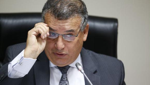 Emplazan al ministro Urresti. (Luis Gonzales)