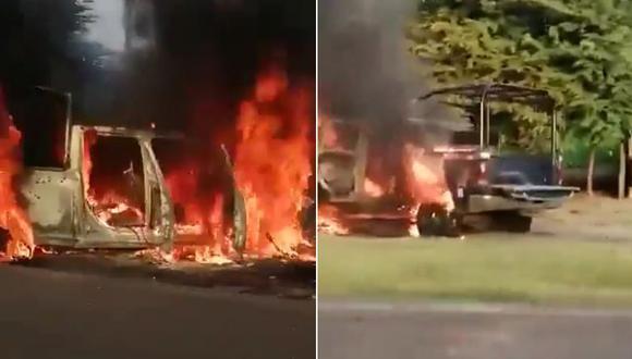 El ataque a dos patrullas de la policía mexicana dejó al menos 14 efectivos muertos. (Foto: Captura de video)