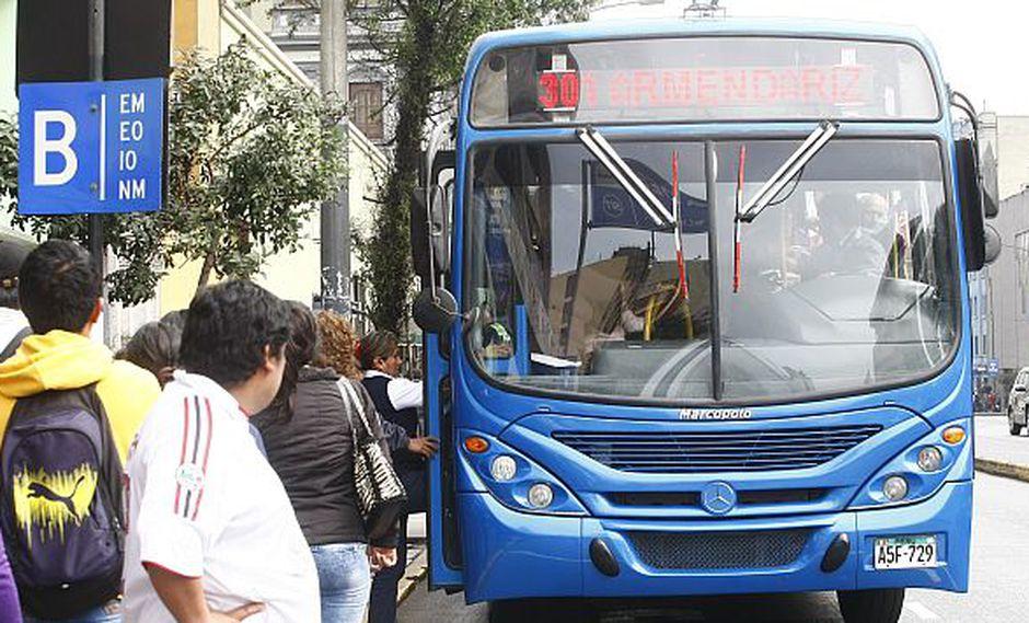Corredor Azul: Conoce los recorridos modificados de las rutas antiguas. (USI)