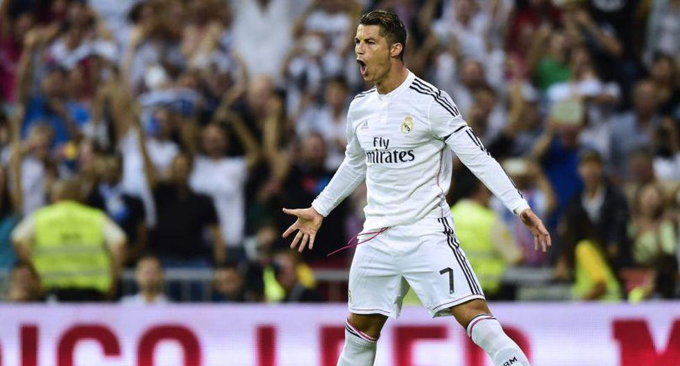 Ronaldo, futbolista del Real Madrid, ocupa el segundo lugar. (AFP)