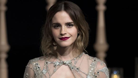 """Emma Watson celebra sus 30 años liberada de su personaje de Hermione Granger de la saga de """"Harry Potter"""". (Foto: AFP)"""