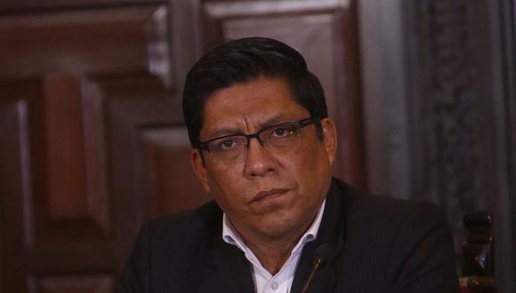 """Zeballos indicó que los fiscales que negociaron el acuerdo de colaboración eficaz con la constructora brasileña actuaron """"con autonomía"""". (Foto: GEC)"""