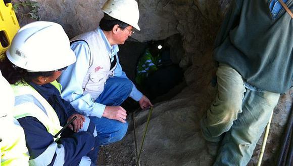 No lograron sacar con vida al minero atrapado. (Difusión)