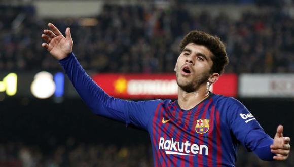 Carles Aleñá dejó Barcelona, en calidad de cedido, y jugará en el Betis hasta el final de la temporada. (Foto: AFP)