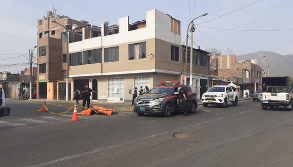 El fisicoculturista Pedro Enrique Ruiz Prado (23) fue víctima de dos sicarios en San Juan de Lurigancho.