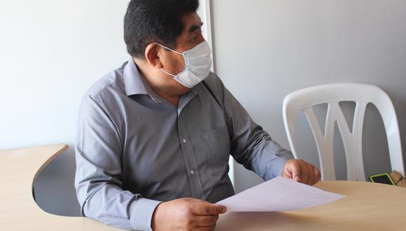 El legislador Hipólito Chaiña falleció en Arequipa este lunes producto del COVID-19. (Foto: Facebook Hipólito Chaiña)