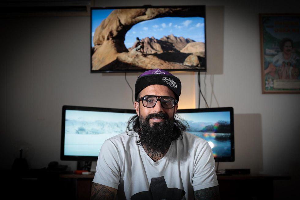 """""""(La diversidad enseña) que no eres el único, que puedes aprender de lo que no conocías"""", declara el director de 'Frontera azul' (Juan Ponce Valenzuela/Perú21)."""