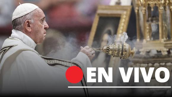 EN VIVO Sigue las ceremonias del Papa Francisco por Semana Santa vía Streaming y TV por cuarentena.