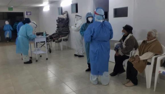 """Arequipa: Hay 39 ancianos contagiados de COVID-19 en albergue """"El Buen Jesús"""" y otros tres fallecieron a causa de la pandemia, informó el presidente de la Sociedad de Beneficencia de Arequipa, Fernando Figueroa."""