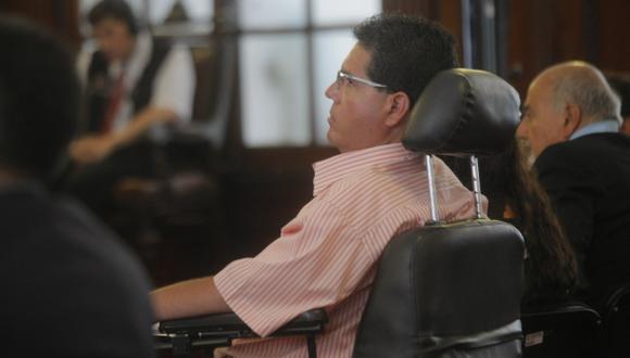 Michael Urtecho: La medida judicial no fue objetada por su defensa. (David Vexelman)