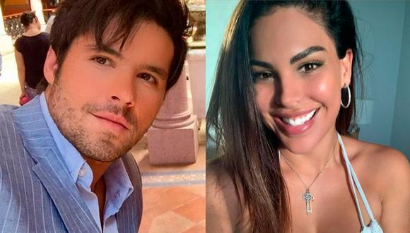 La peruana acusó al actor de agresión en noviembre de 2020, por lo que él fue recluido en una prisión. (Foto: Eleazar Gómez y Stephanie Valenzuela / Instagram)