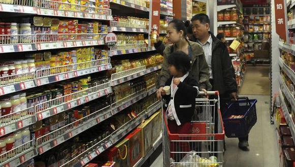 Economía china se habría desacelerado en primer trimestre. (AP)