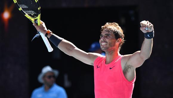 Rafael Nadal busca un nuevo título para acercarse al récord de Roger Federer. (Foto: AFP)