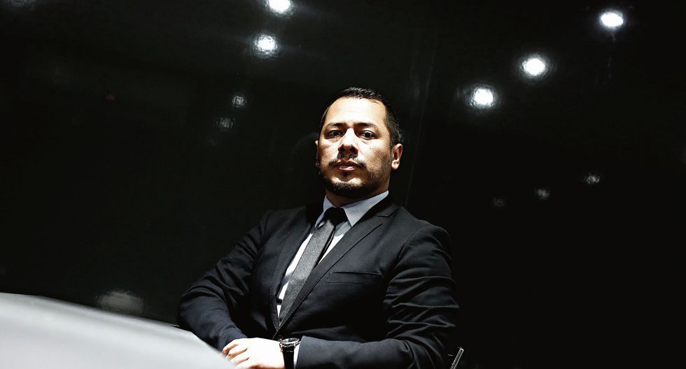 Christian Salas Beteta. Ex Procurador anticorrupción. (Perú21)