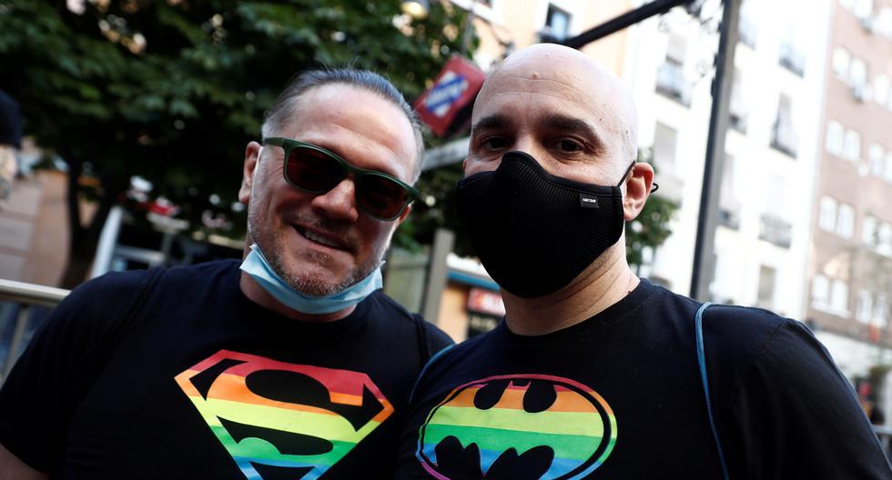 La primera boda homosexual se celebró el 11 de julio de 2005, tan solo ocho días después de que la ley entrara en vigor. (Foto: EFE/ Mariscal)