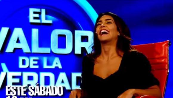 """Vania Bludau en """"El Valor de la Verdad""""  (Foto: Instagram)"""
