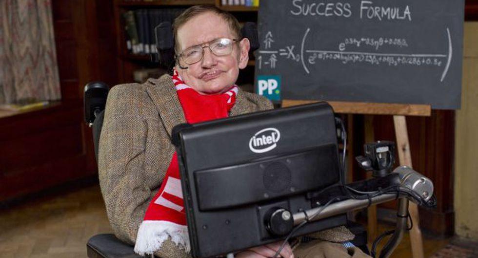 Stephen Hawking padece hace varios años de esclerosis lateral amiotrófica. (AFP)