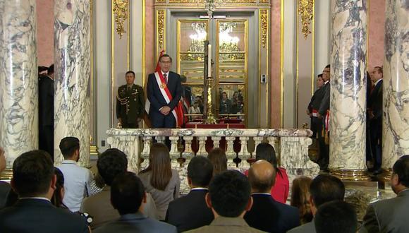 Un gobierno carambola. (Foto: Presidencia Perú)