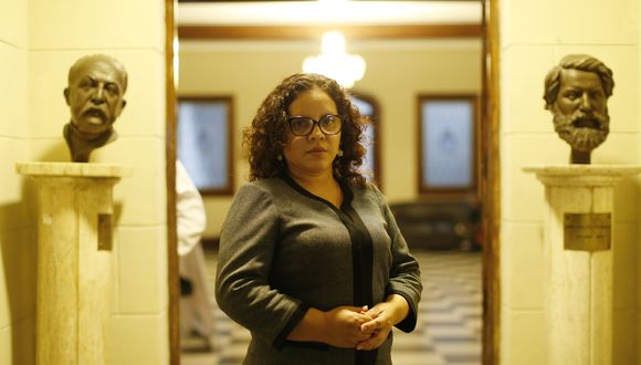 Rocío Sánchez dijo que tiene más evidencia de cómo operaba la organización criminal. (Mario Zapata GEC)