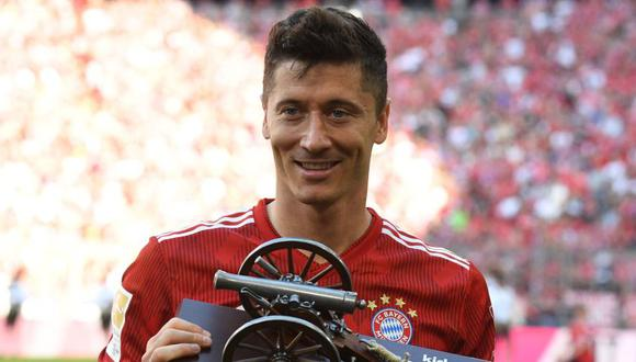 Robert Lewandowski suma cinco temporadas en Bayern Munich (Foto: AFP).