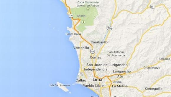 Temblor de 4 grados se sintió esta noche en Lima (Internet)