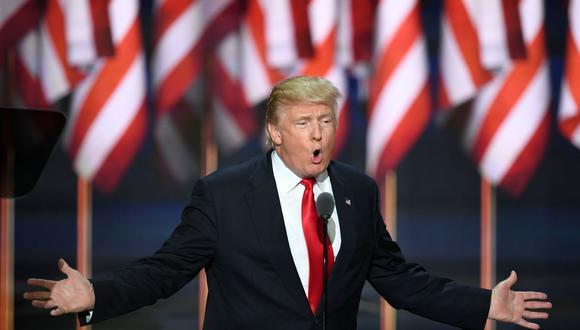 """""""La campaña de Trump está orientada a posicionar a Biden (político y exvicepresidente) como cercano al socialismo/comunismo y ganar estados que rechazan regímenes como Cuba y Venezuela"""".  (Foto: Jim Watson / AFP)"""