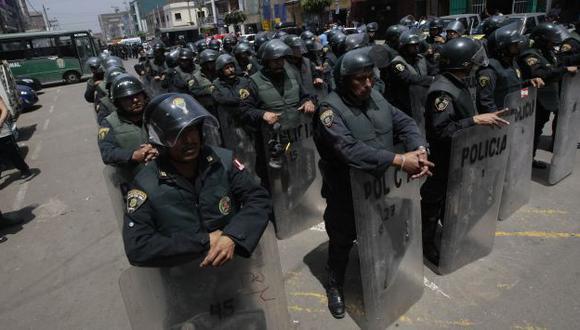 Miembros de Asbanc no han solicitado el resguardo policial pese al convenio. (USI)