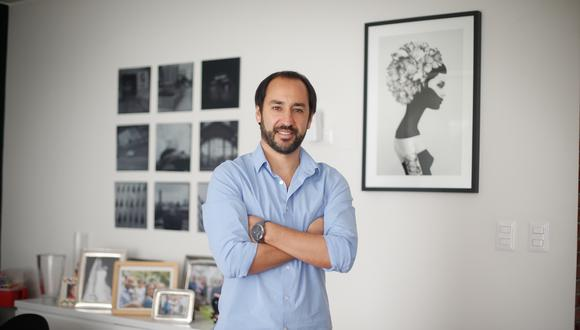 Gonzalo Álvarez-Calderón, fundador de Kuelga.com. (FOTO: VIOLETA AYASTA / GEC)