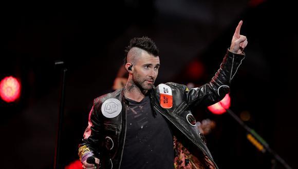 Adam Levine ofreció disculpas por conducta en Viña del Mar. (Foto: AFP)
