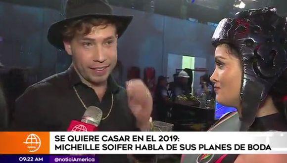 La cantante declaró a América Espectáculos.