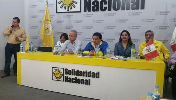 Nano Guerra García es el candidato presidencial de Solidaridad Nacional. (@patty_juarez_)