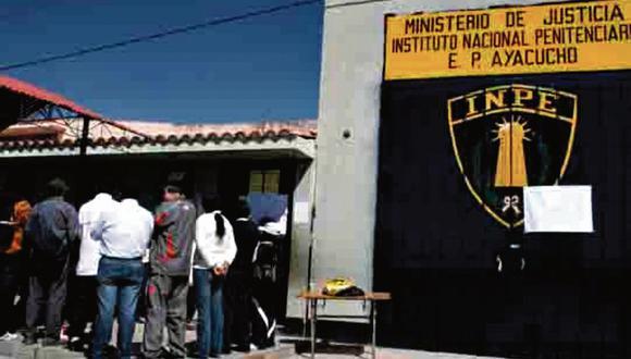 Ayacucho: Se escaparon de penal. (USI)