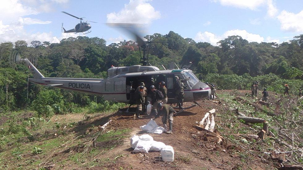 Erradicación de hoja de coca (Ministerio del Interior)