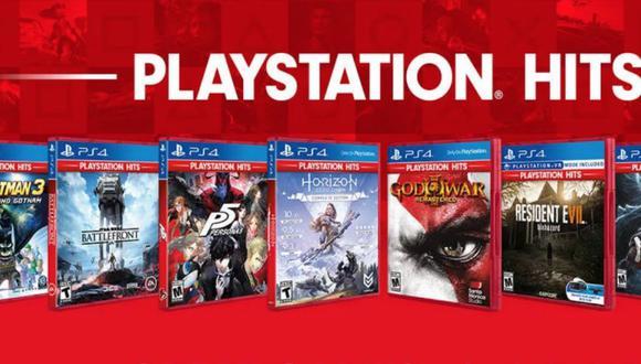 Nuevos títulos llegan a PlayStation Hits.